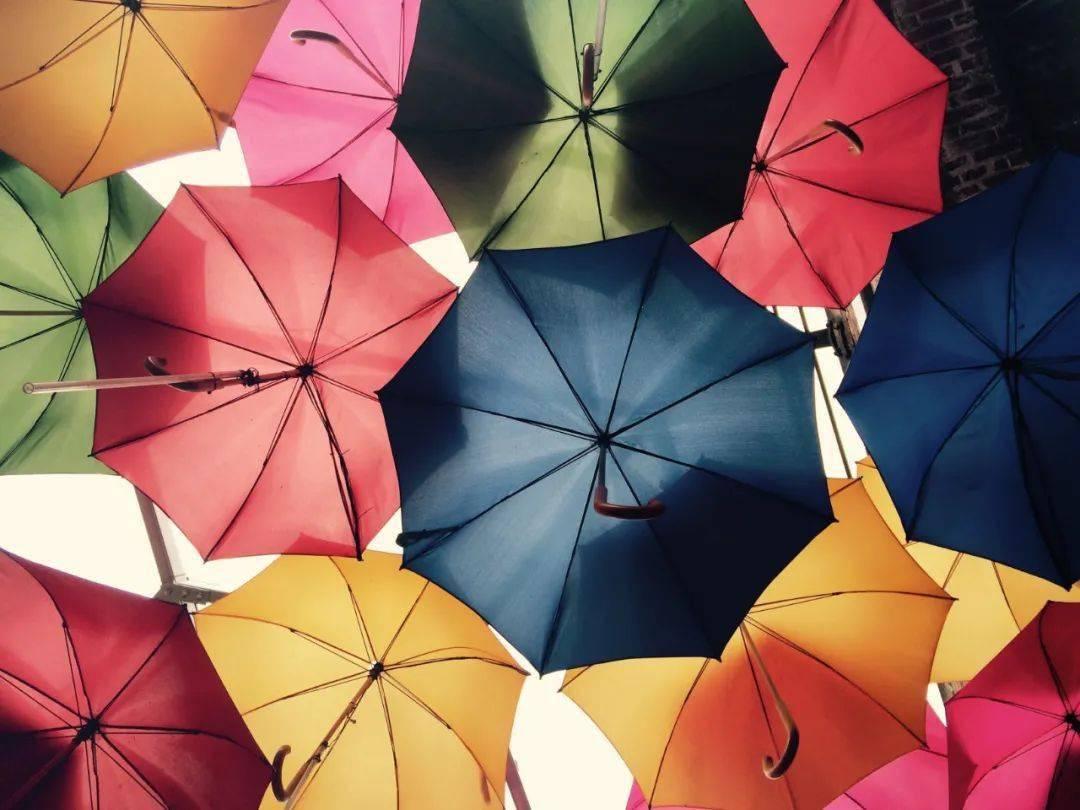 雨伞简笔画可爱