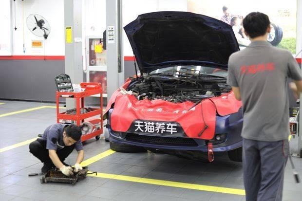 <strong>中国汽车保有量飙升 阿里腾讯看中了修车</strong>