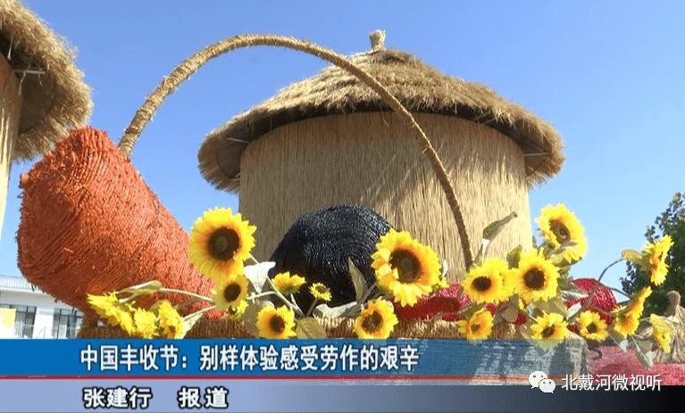 【北戴河看点】中国丰收节:别样体验感受劳作的艰辛