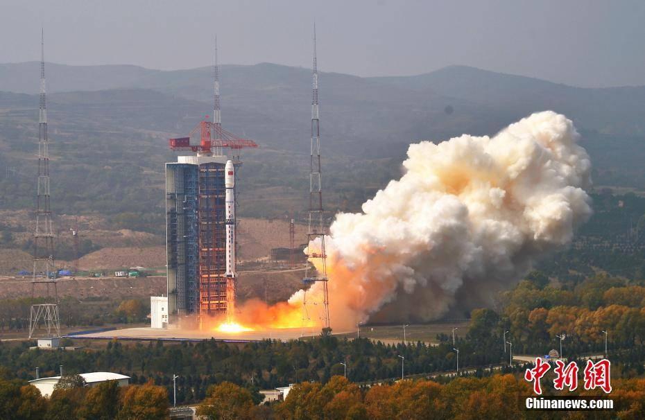 中国乐成发射情况减灾二号A、B卫星