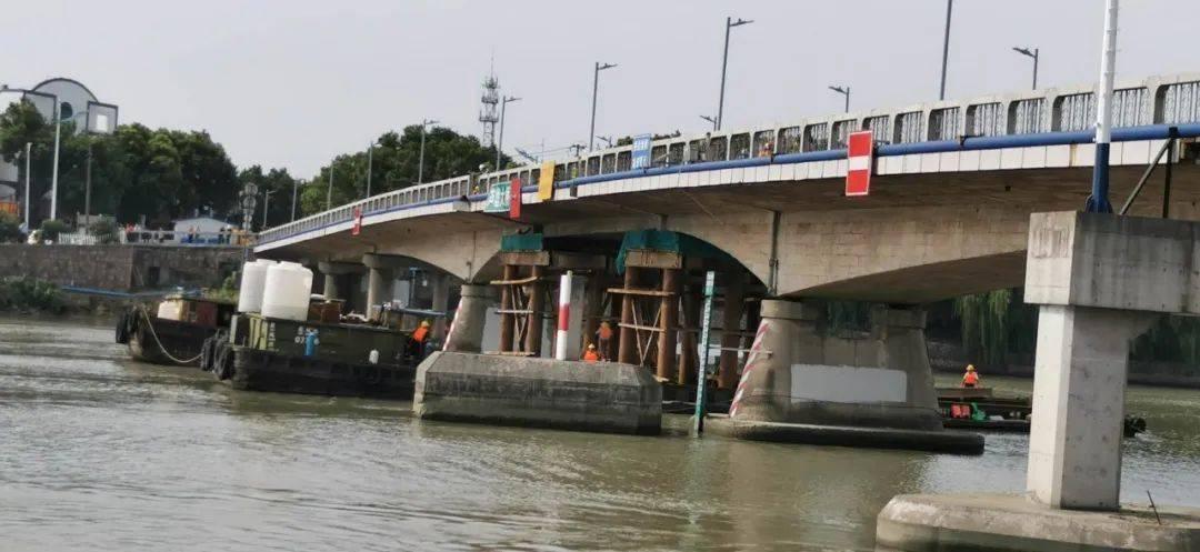 芦墟大桥桥梁维修减修记录