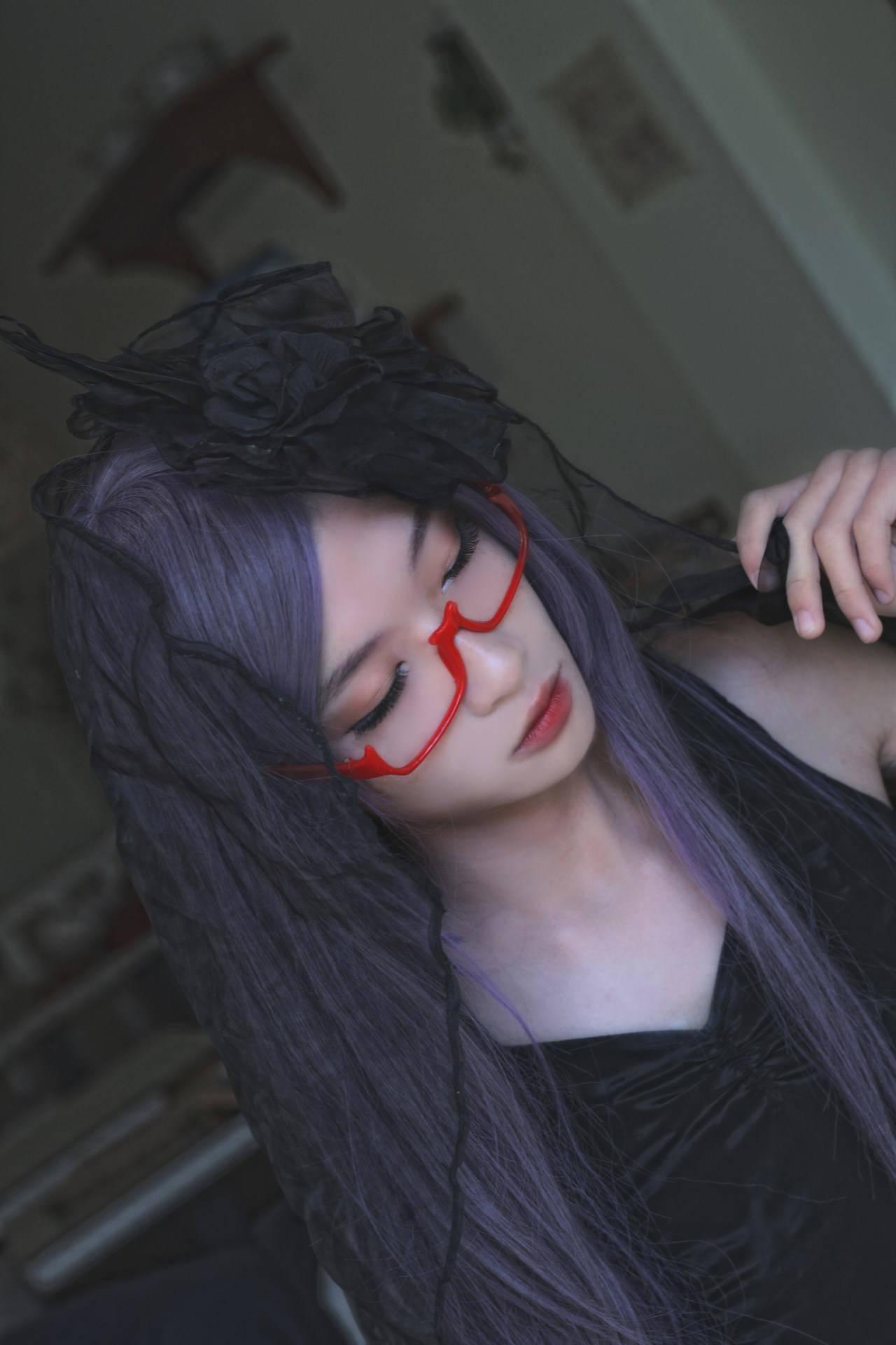 东京喰种神代利世cosplay_chuya