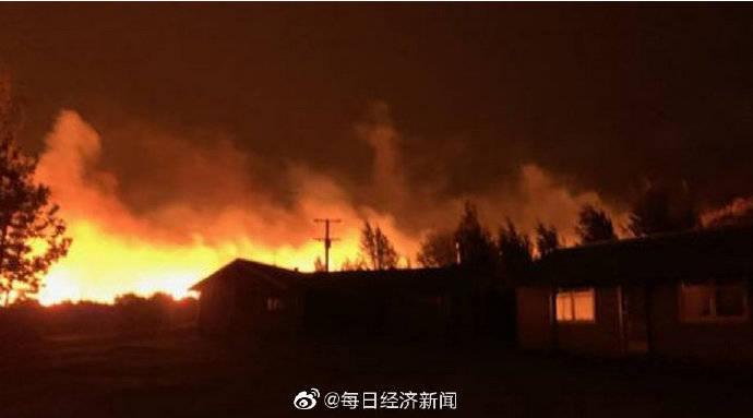 新西兰发生森林大火过火面积已超过1600公顷  数十栋房屋被毁