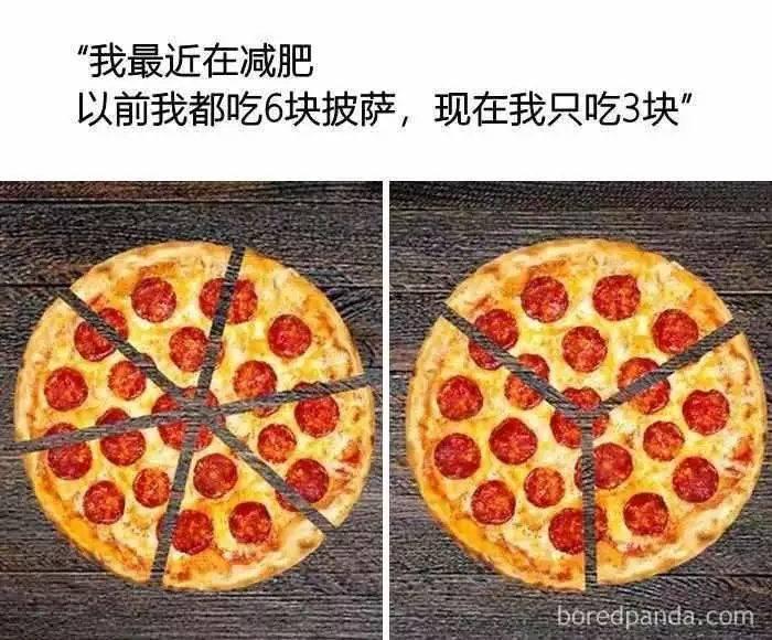 瘦子的饮食结构 VS 胖子的饮食结构