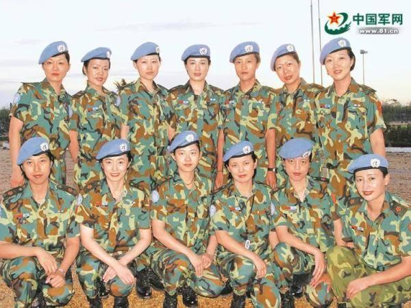 在瑞安的第一批中国军事维和人员:中国军