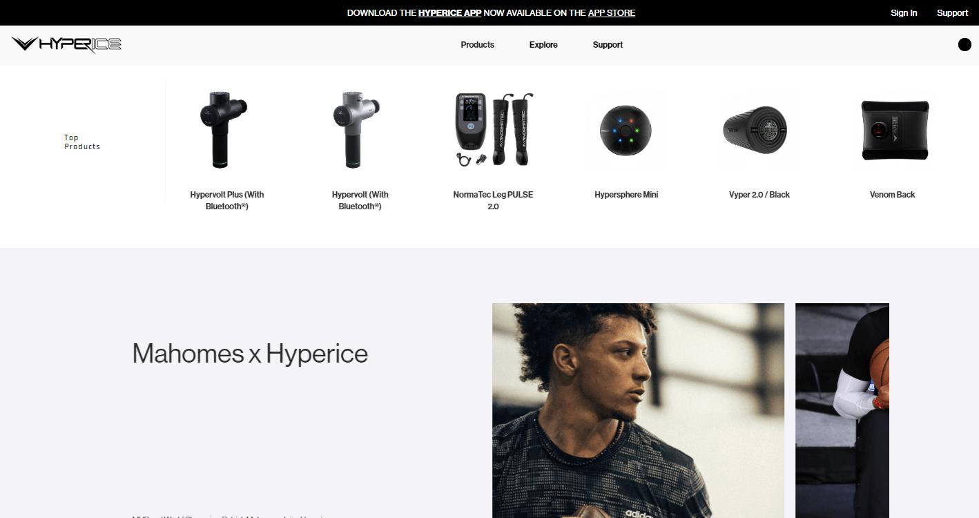 詹姆斯都在用的降噪筋膜枪?美国运动康复公司「Hyperice」获新一轮融资,估值达 7 亿美元