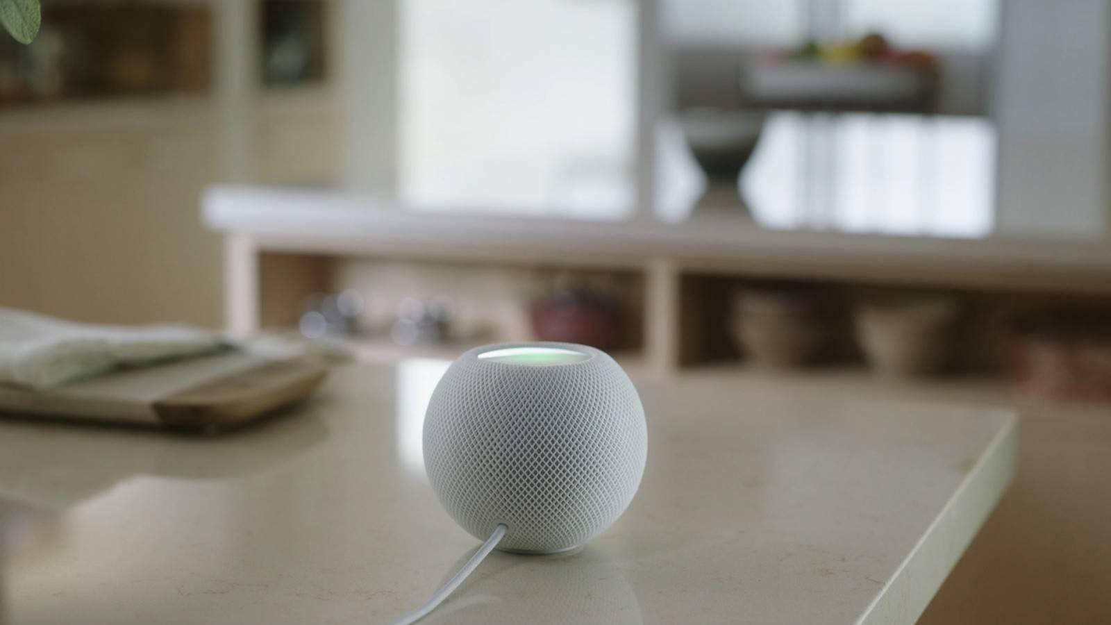 HomePod mini电源线同样不可拆卸:但或能用USB-C移动电源供电