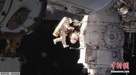 航天人士:国际空间站俄罗斯舱段裂缝长2至4厘米
