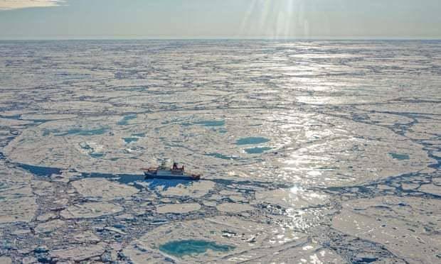 气候变化又一严重情况!北冰洋甲烷沉积物开始释放气体