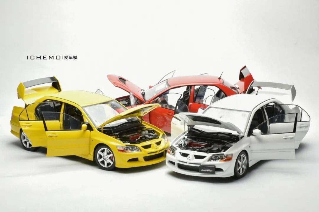 Super A三菱Evo VIII样车拆包| 2020年能买到的老式合金全开车型