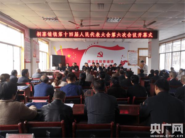 河南唐河桐寨铺镇召开第十四届人民代表大会第六次会议