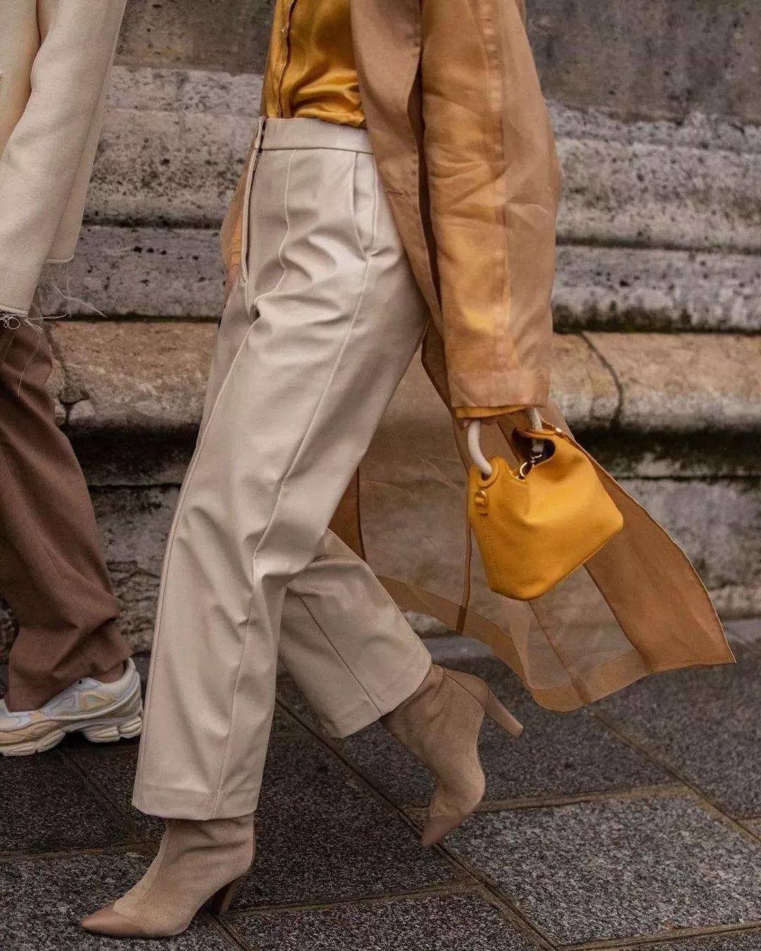 外套+奶奶裤=穿过都说好看!