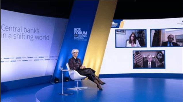 三大央行行长聚首论坛鲍威尔:评估疫苗对经济影响为时尚早