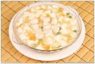 高级营养师教您精选月子餐:南瓜烩豆腐