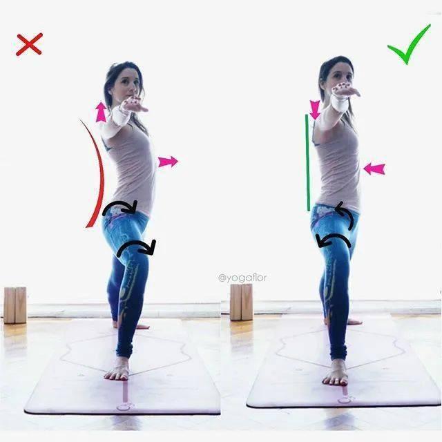 无中立位不训练?练瑜伽的6大基本正位原则,初学者尤其要注意啦!