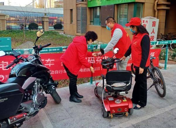 青岛市北区:积极回应基层诉求 开展电动车秩序治理