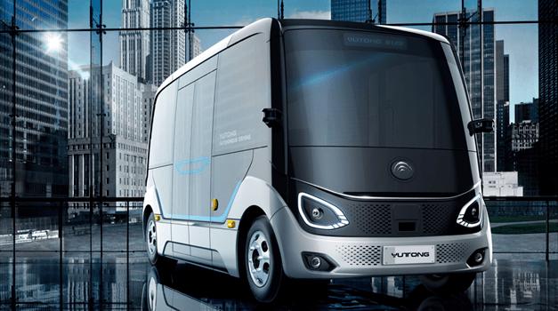 「小车看百度,大车看深兰」,自动驾驶公交驶向千亿蓝海市场