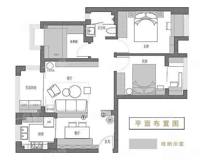 80平小三房,好精致的软装,儿童房也装得漂亮!