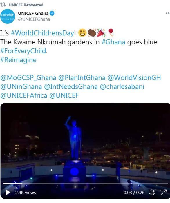 疫情下的世界儿童日:点亮蓝色灯光,守护人类未来