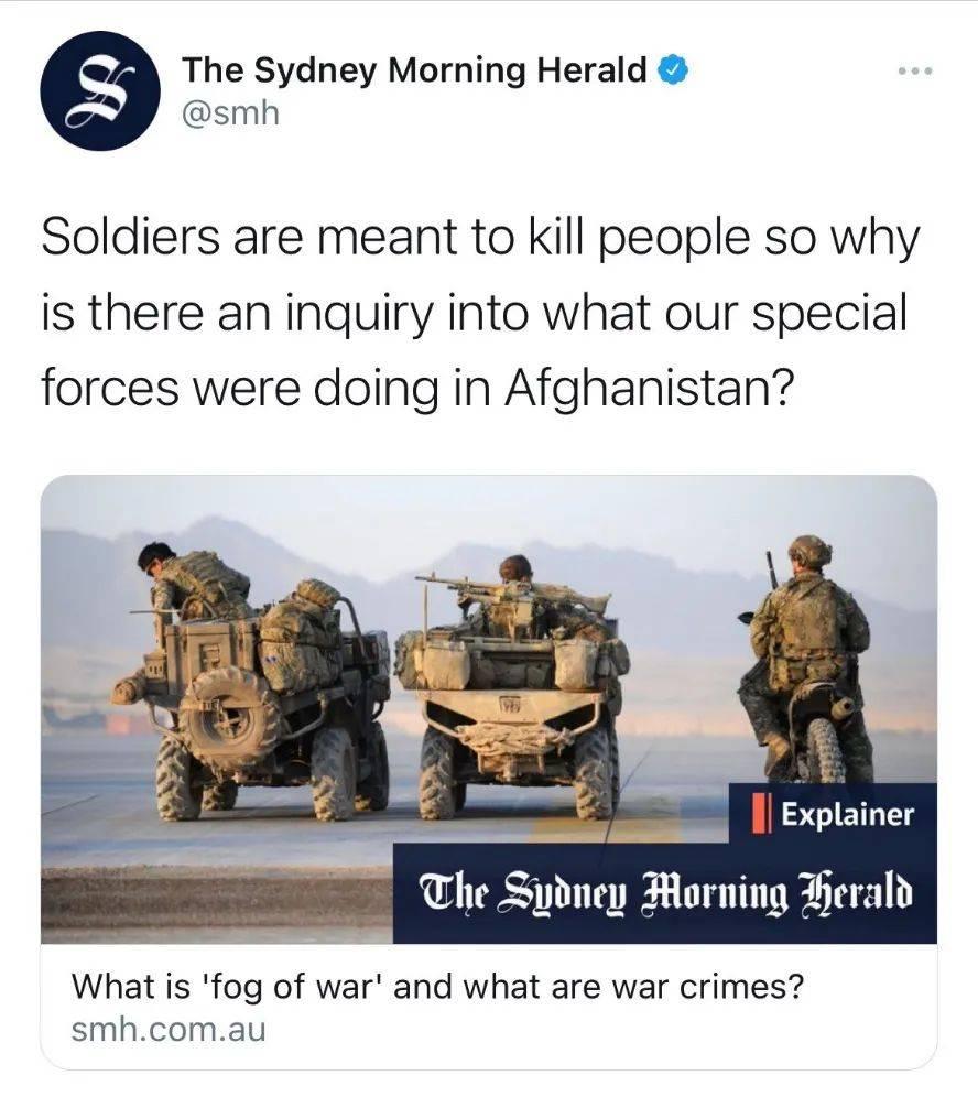 澳大利亚媒体开始为暴行洗地(图)