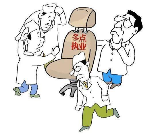 关于印发推进和规范医师多点执业的若干意见的通知