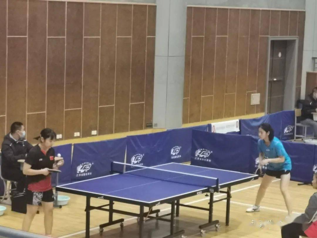 """激情""""乒乓"""",强我风貌——盐中学子勇夺省中学生乒乓球锦标赛团体冠军"""