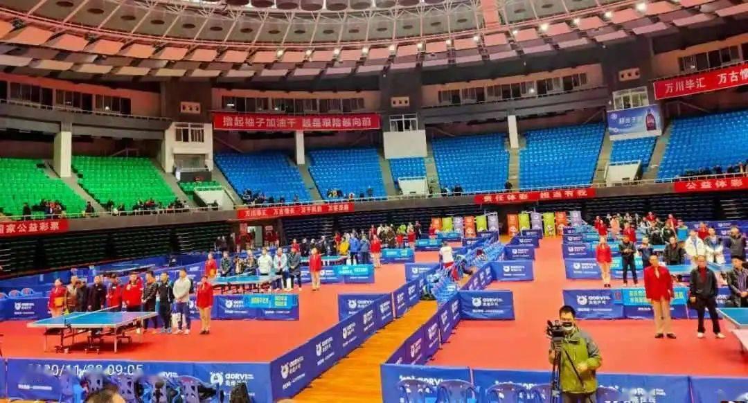 """中国体育彩票健康欢乐送""""长江杯""""全国乒乓球赛开打_比赛"""