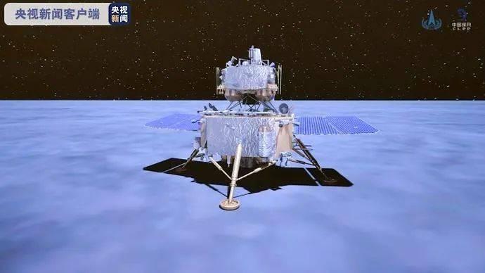 """""""嫦娥""""奔月成功,即将开始""""挖土"""",还发来一张月面照片"""