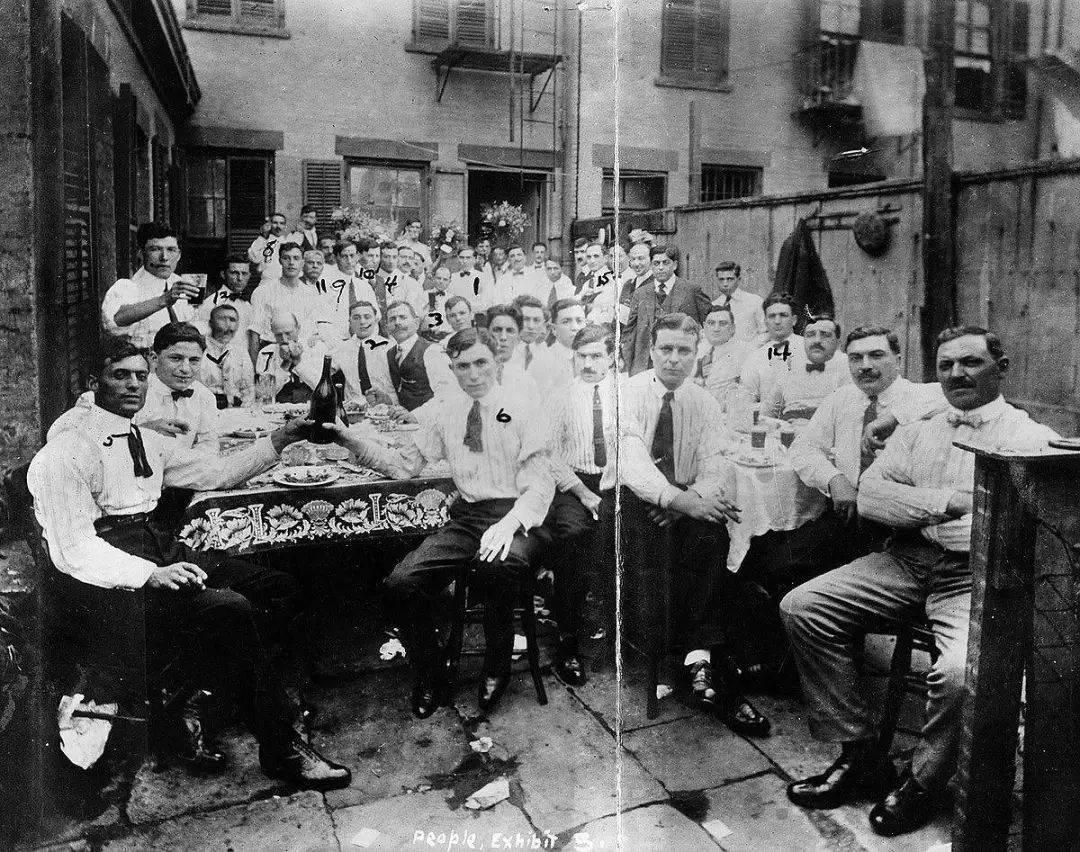 活跃在1885~1918年的纽约卡莫拉势力