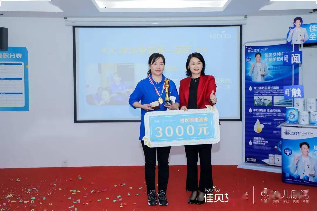 2020佳贝争霸赛冠军:江苏省区-梁娟_团队