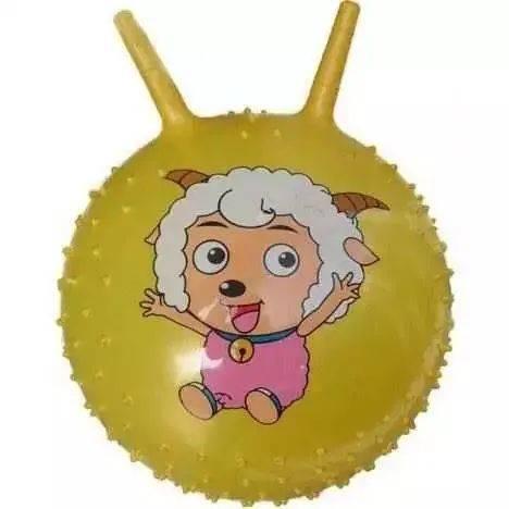 喜洋洋羊角球 黄 批发,义乌儿童玩具批发网提供喜洋洋羊角球 黄 批发进货货源图片