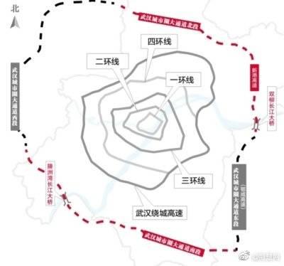 武汉城市圈大通道开工建设 ,全长约360公里