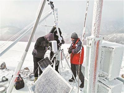 冬奥气象观测网风速采集可达秒级