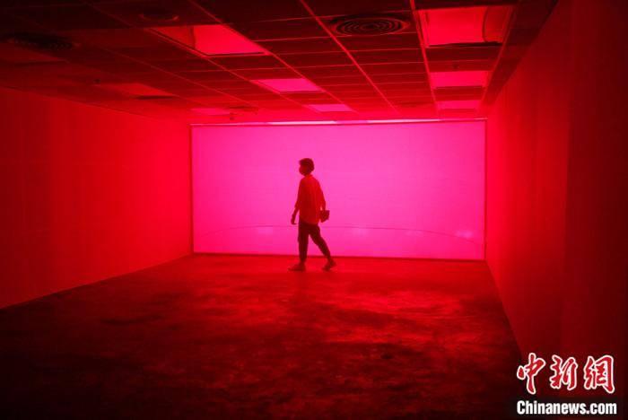 灯光艺术照亮曼谷的梦幻之夜