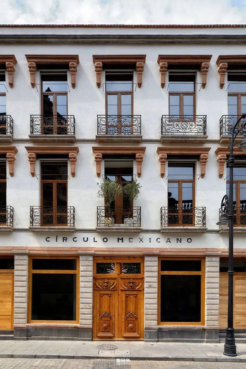 墨西哥城的生态气势派头和极简主义旅店:Circulo旅店【雷泽体育】
