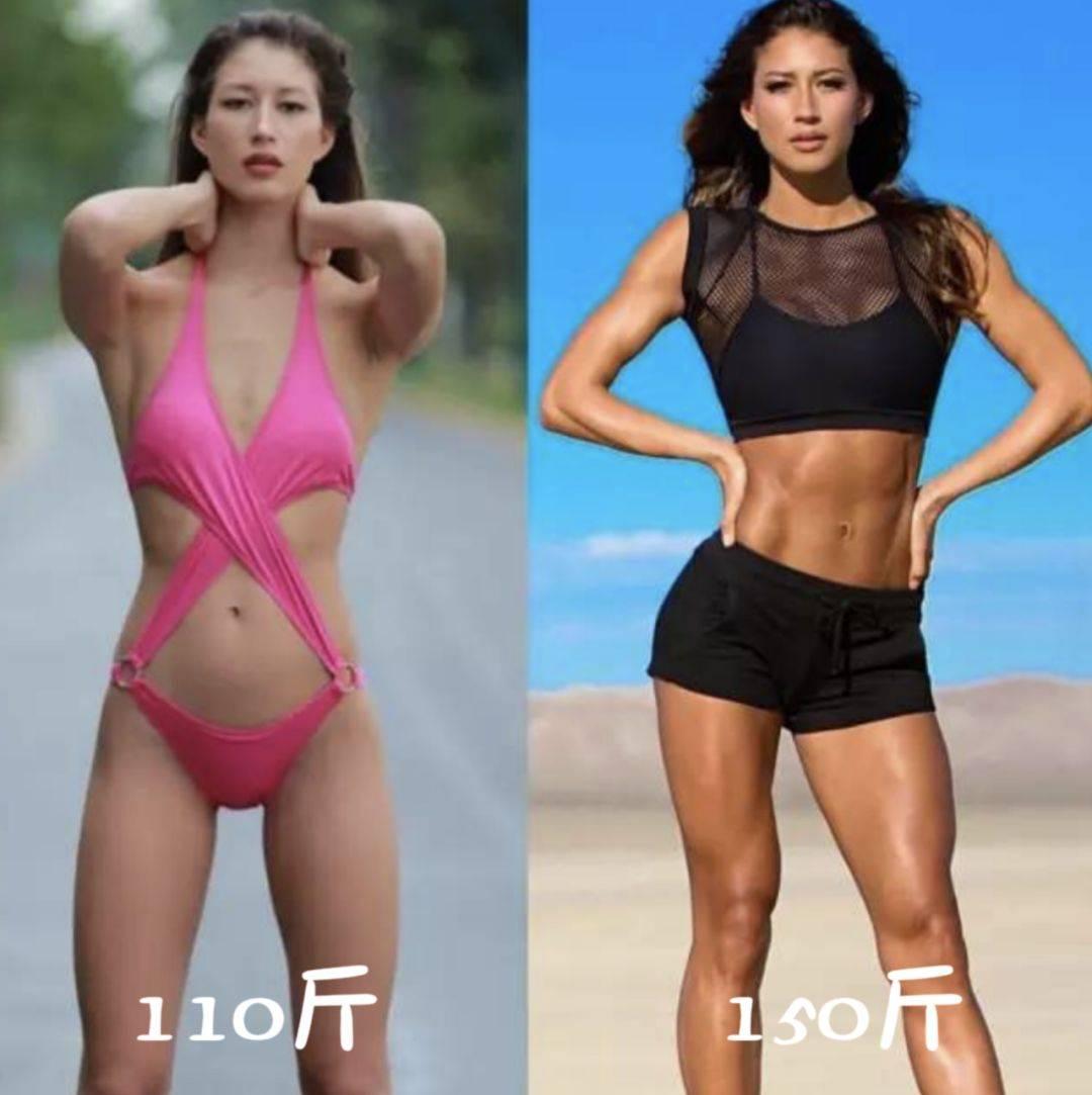 一公斤肌肉脂肪对比图