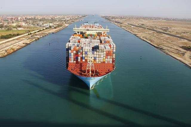 苏伊士运河2020年实现收入56.1亿美元,为历史第三高