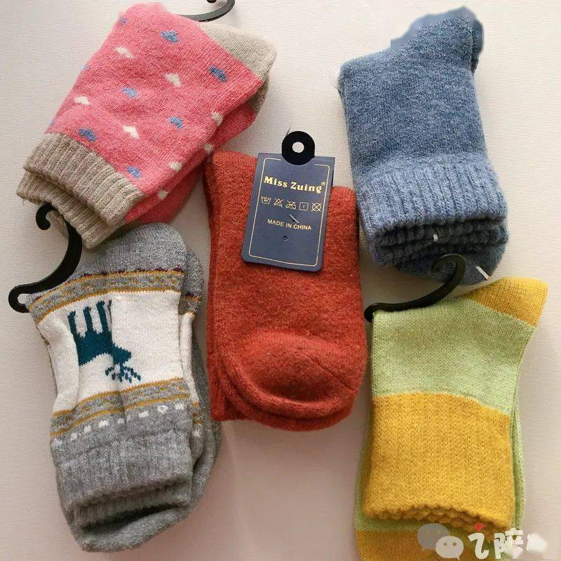 这个澳洲超细羊毛的羊毛袜,和线袜一样薄/和毛袜一样暖丨开团