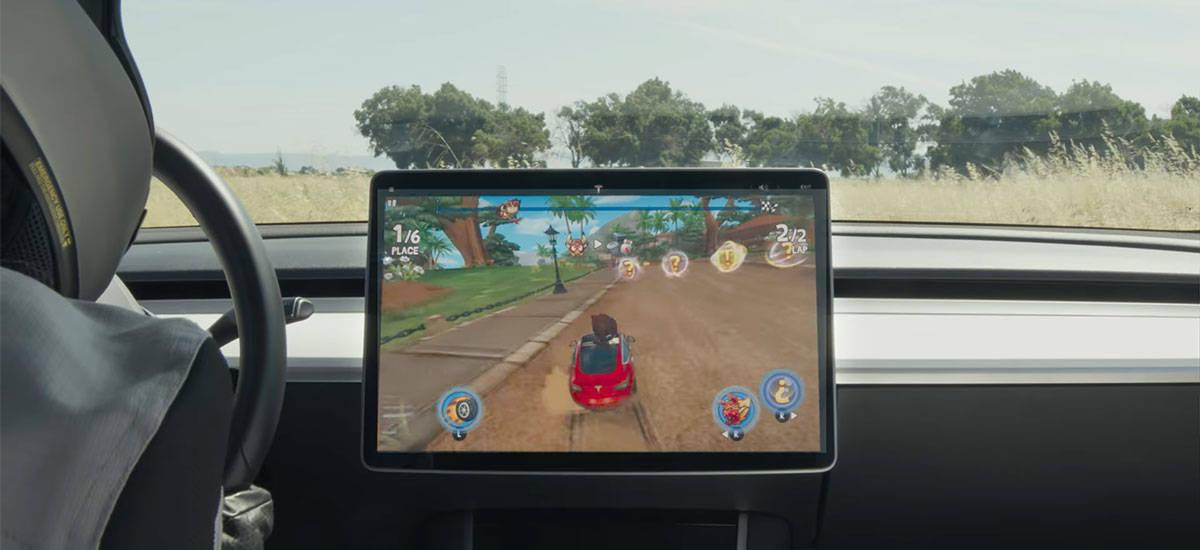动点汽车 2021 未来展望:汽车会成为赢咖4平台新的终极游戏机_特斯拉