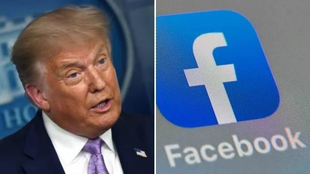 脸书延长封禁特朗普账户两周:允许总统继续使用风险太大