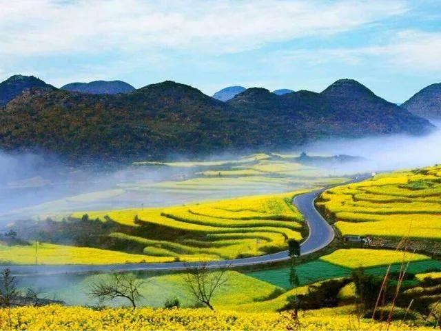 2021春天云南滇东南旅游环线,正确的时间,去看最美的风景