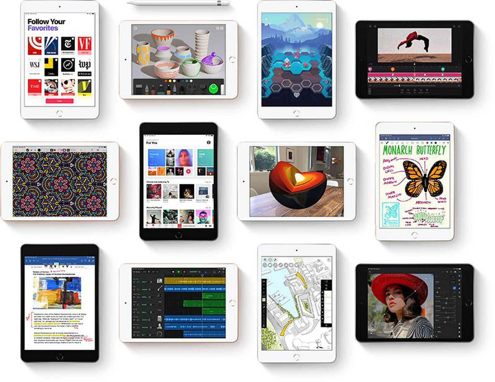 iPad mini 6或在3月推出:配备8.4英寸屏幕