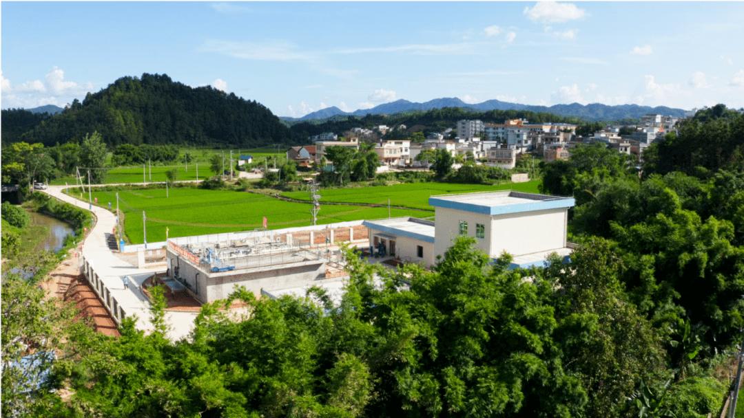 南雄14个新增镇级生活污水处理厂投入运营,实现全域覆盖!