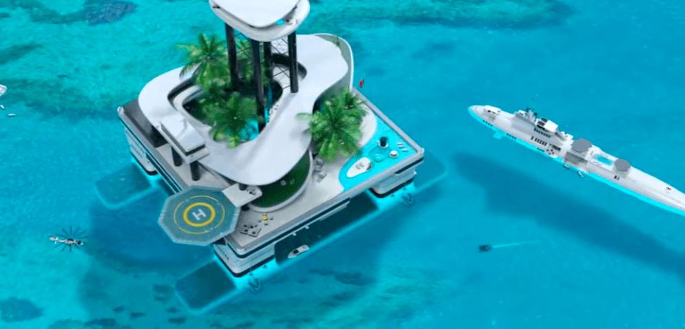 房子这样盖,就是一座岛!