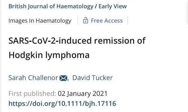 神奇案例!癌症晚期患者感染新冠后,肿瘤竟然消失了……