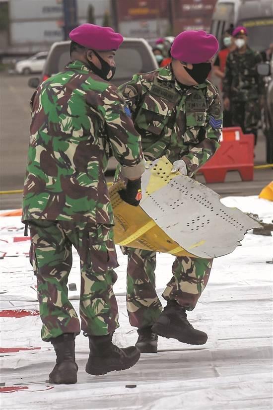 搜救人员找到部分遇难者遗体