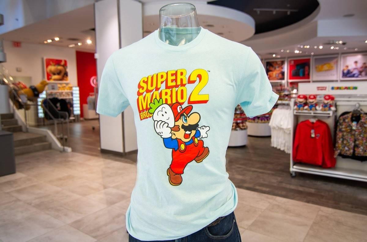 国外上架任天堂《超级马里奥》35周年纪念系列T恤