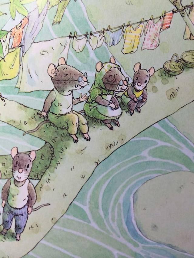 有声绘本:14只老鼠洗衣服  第14张