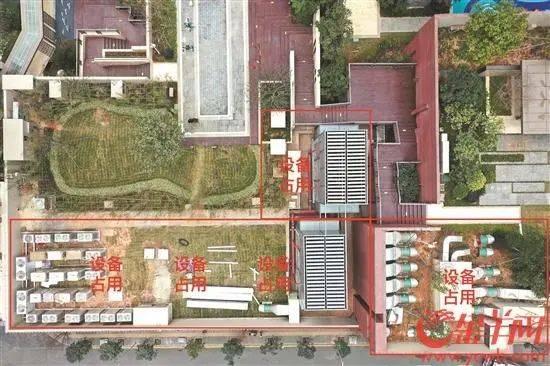 """小区花园被大型设备占用!一""""网红楼盘"""" 逾百业主联名拒收房!"""