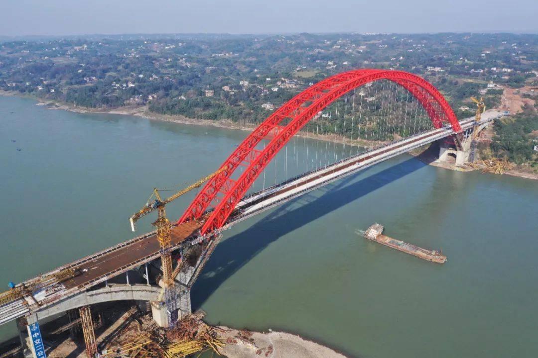 泸州合江长江大桥主体全线贯通,预计4月底通车